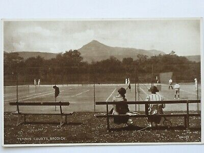 Tennis Courts Brodick Arran