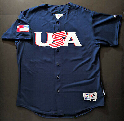 dda89f284e1 ANDREW MCCUTCHEN 2017 Team Issued USA World Baseball Classic BP Jersey  Phillies
