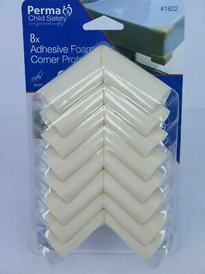 8 Pack Perma Child Safety Foam Corner Protectors 1822