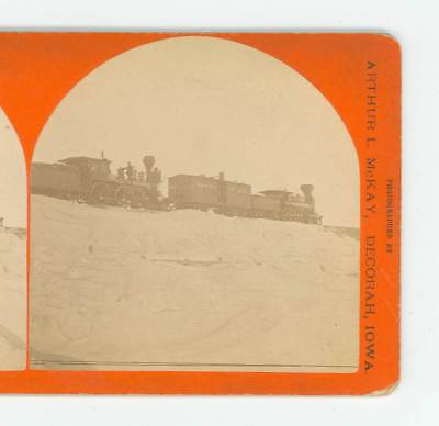 B3148 McKay 126 Snow-Bound The Dead Engines, Conover & Ridgway, Iowa D