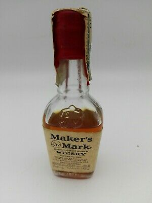 Miniature mignon minibottle Whisky Makers Mark Bourbon