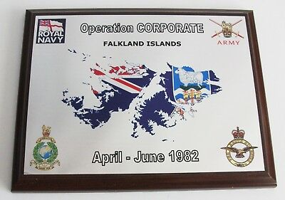 Operation Corporate Plaque-Falkland Conflict War Argentina British Armed Forces