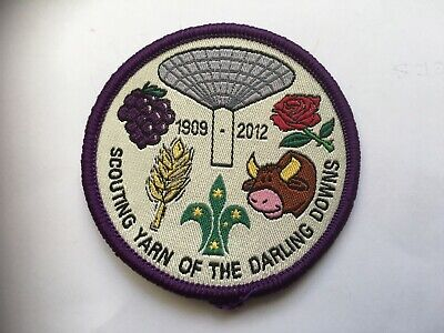Australia. Queensland. Darling Downs Scout Group, Anniversary Badge 2012.