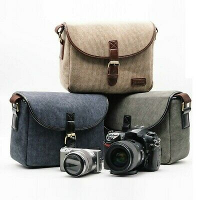 SLR Camera Backpack Digital Cameras Lens Bags Crossbody Cases Canon Nikon Travel