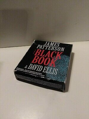 The Black Book by James Patterson and David Ellis (2017, CD, Unabridged) VG