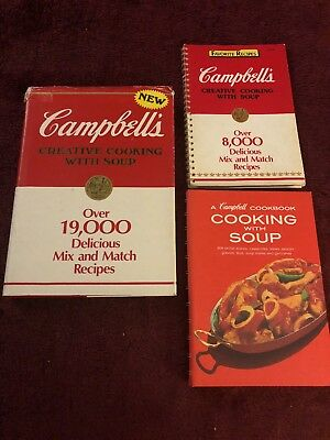 Campbell Cookbook Cooking With Soup Recipes Vintage 12 99