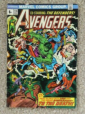 Marvel 'Avengers' #118 - featuring The Defenders
