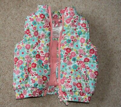 Body warmer Gilet Baby Girls 9-12 mths Mothercare