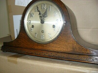 Haller Napolean hat mantle clock with Westminster chimes