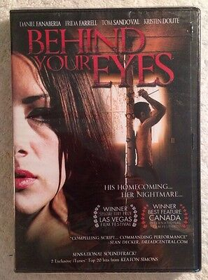 Behind Your Eyes (NEW SEALED DVD, 2012)