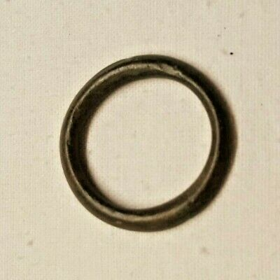 CELTIC ANCIENT BRONZE PROTO MONEY RING / nice quality early item