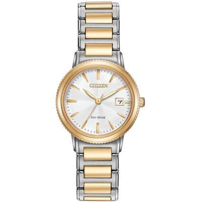 NEW Ladies Citizen Silhouette Sport Ladies Watch Two Tone Stainless EW2374-56A