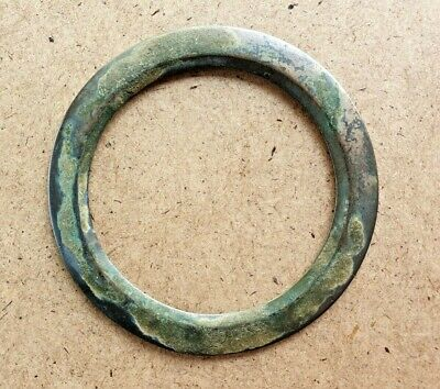ROMAN AGED ANCIENT BRONZE BRACELET 8 CM / Nice empire jewelry