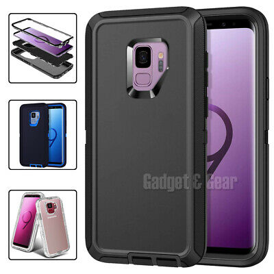 For Samsung Galaxy S9 S9+ Plus Hybrid Shockproof Case Ultra Heavy Duty Cover