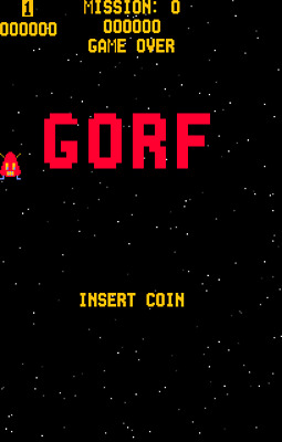 Gorf PCB SET Midway Manufacturing Co. 1981 Videogame pcb arcade video game