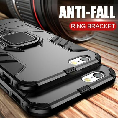 Shockproof Case Iphone Armor Stand Cover Rugged Xs Max Plus Heavy Duty Hybrid Xr