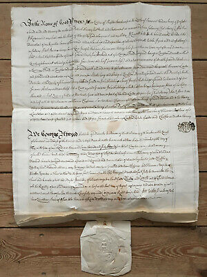 1745 Paper Probate Will of Alice Collins of Shepton Beauchamp in Somerset