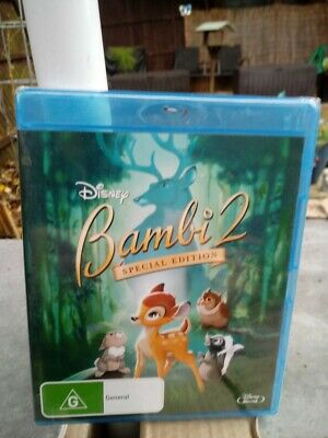 Bambi 2 Special Edition Blu Ray New /Sealed Region Free Cheapest On Ebay