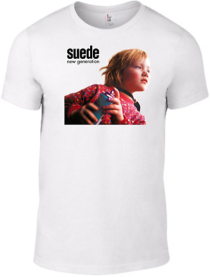 SUEDE The Blue Hour T-SHIRT band indie smiths brett cd britpop pulp oasis blur B