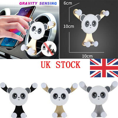 Gravity Car Air Vent Mount Stand Holder Cradle for Mobile Cell Phone Universal