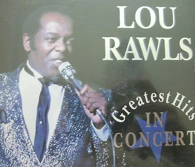 LOU RAWLS - Greatest Hits - In Concert (2xCD) FREE UK P+P ......................