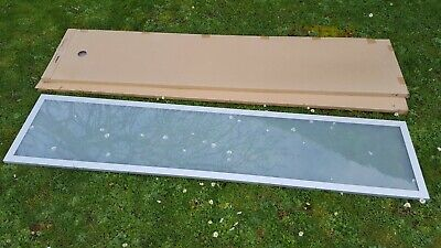 Ikea glass doors for shelving units/bookcase 80cm wide x 179 like Billy alumium
