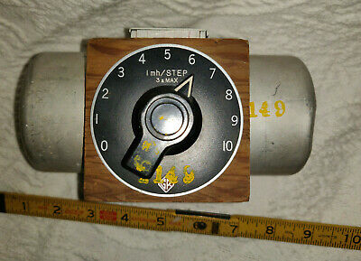 General Radio (VINTAGE), Type 940-A, Decade Inductor, 1 mh Per Step, 3 a Max