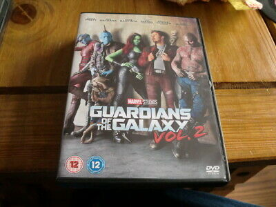 GUARDIANS OF THE GALAXY VOL. 2 (2017 DVD) CLASSIC MARVEL ACTION 1p!!!!!!!