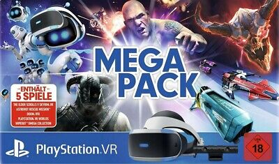Sony PlayStation Worlds Mega Pack VR Headset Bundle