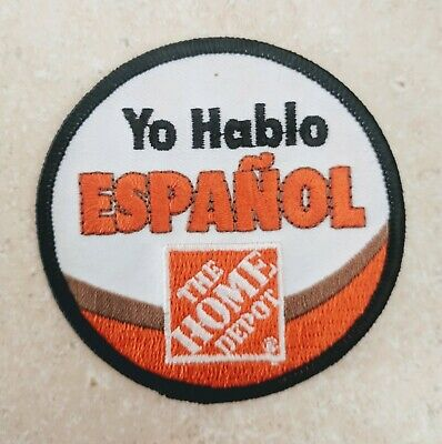 The Home Depot Apron Badge Safety Excellence Club 365 Patch Pin