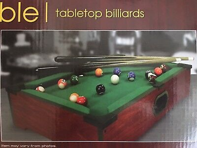 Incredible Westminster Tabletop Billiards Pool Table Fully Assembled Comes W Balls Stick Download Free Architecture Designs Scobabritishbridgeorg