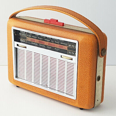 Post Portable Radio Transistor 1950 Vintage Rockabilly They Will not Work