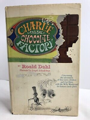 Charlie And The Chocolate Factory Roald Dahl 1st ed Pygmies & The Oompa-Loompas