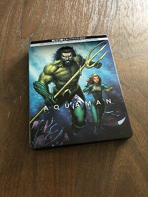 Aquaman  4K Ultra HD Blu-ray/Blu-ray, No Digital Copy