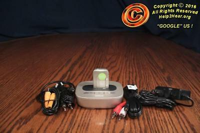 PHONAK™ COMPILOT AIR II + TV Link II BT STREAMER w/cables and REMOTE MIC