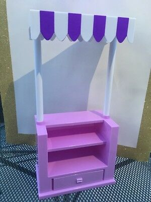 Fit For 18/'/' American Girl Doll Wellie Wishers Cupcake Berry Sweet Snack Stand