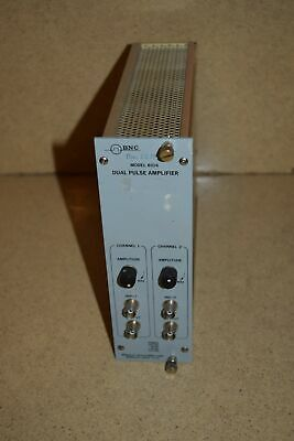 ^^ Bnc Model 8016 Dual Pulse Amplifier Nim Bin Plug In