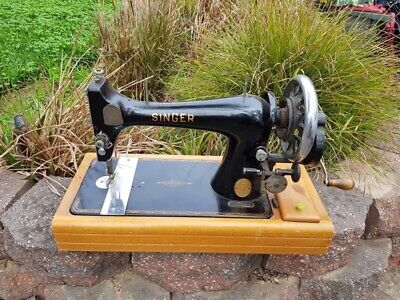 Antique Singer Sewing Machine Hand Operated