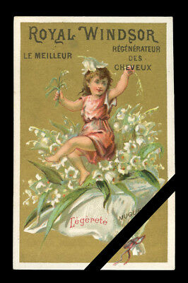 Victorian Trade Card: Original Early 1900's French Advertising - Royal Windsor
