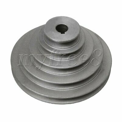 Chrome Iron 19mm Bore 5 Step A Type V-Belt Pagoda Pulley Belt OD 56mm to 165mm