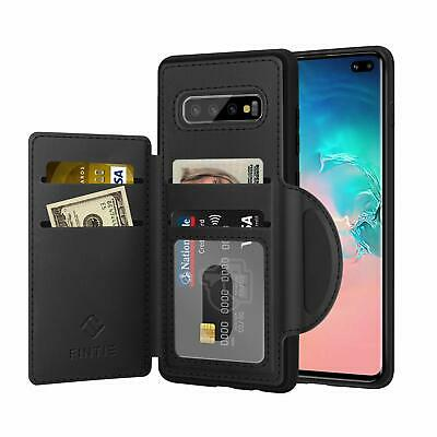 For Samsung Galaxy S10 / S10 Plus / S10e Wallet Case Shockproof Cover Card Slots