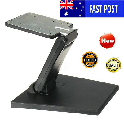 Tilt Mounted Fold Monitor Holder VESA 10''-27'' LCD Display Touch Screen Stand