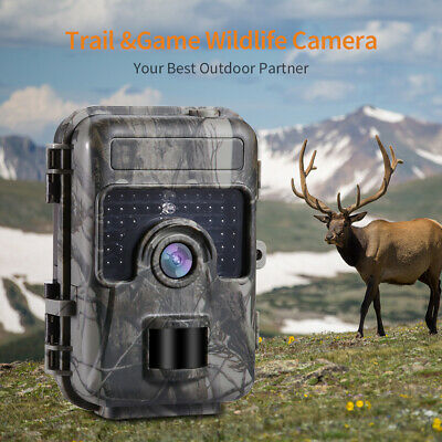 Hunting Camera 16MP 1080P Night Vision Trail Cam Trap 2G GPRS MMS SMS HOT NZK