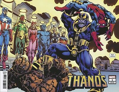 Thanos 1 1:100 Hidden Gem Incentive Variant Infinity War Endgame Hot New Presale