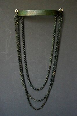 Museum quality, Superb Viking chain necklace 8-10 century AD