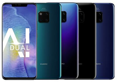 """Huawei Mate 20 Pro DualSim 128GB LTE Android Smartphone 6,3"""" OLED 40 Megapixel"""