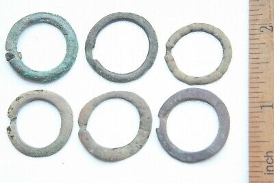 Group Of Ancient Old Bronze Fibula Brooch (FEB01)