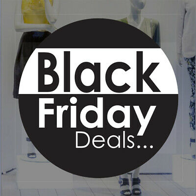 Black Friday Sale Removable Retail Shop Sale Window Sticker / Graphic Sign