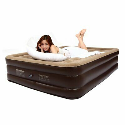2 Size Air Bed Mattress Luxury Inflatable Couch Sleep Rest Guests Mat Camp