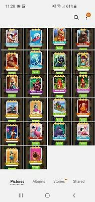 Coin Master Rare Cards List